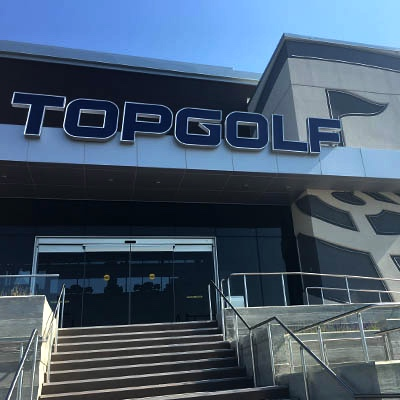 Topgolf Exterior West Chester Ohio